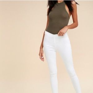 Free People | Easy Goes It High Rise Jeggings